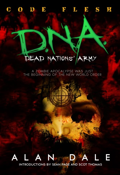 "The upcoming ""DNA: Code Flesh"" book by Alan Dale (courtesy art)"